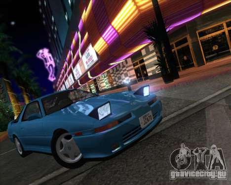Toyota Supra 2.0GT MK3 для GTA San Andreas вид сзади