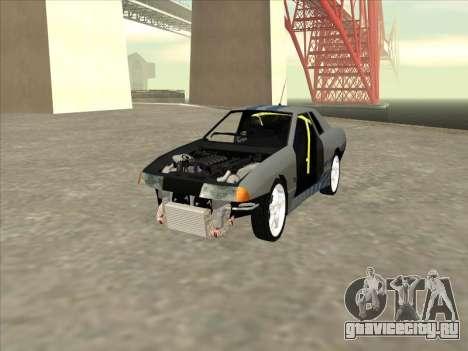 Elegy Skyline для GTA San Andreas вид сбоку