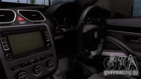 Volkswagen Scirocco GT 2009 для GTA San Andreas вид справа