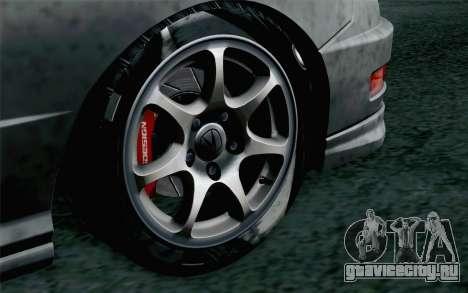 Acura Integra Type R 2001 Stock для GTA San Andreas вид сзади слева