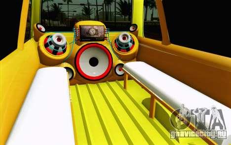 Daihatsu Espass Angkot YRT для GTA San Andreas вид изнутри