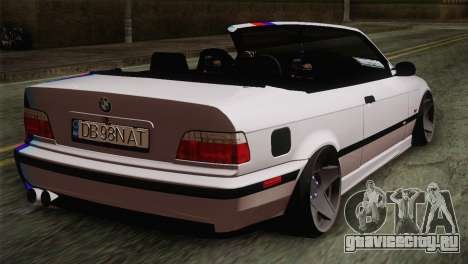 BMW E36 M3 Cabrio для GTA San Andreas вид слева