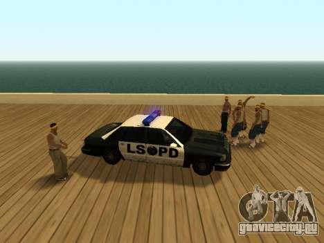 ENB v3 для GTA San Andreas третий скриншот