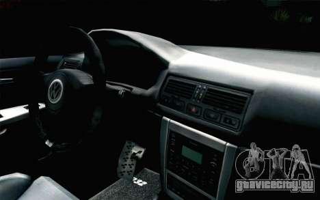 Volkswagen Golf Mk4 R32 Stance v2.0 для GTA San Andreas вид справа