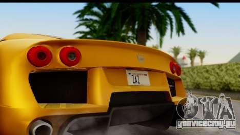 Noble M600 2010 HQLM для GTA San Andreas вид справа