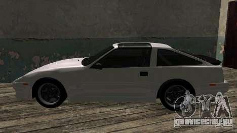 Nissan Fairlady Z 300ZX (Z31) для GTA San Andreas вид сзади