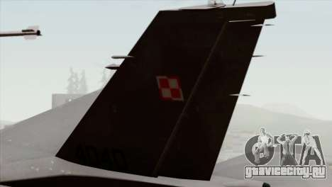 F-16C Block 52 для GTA San Andreas