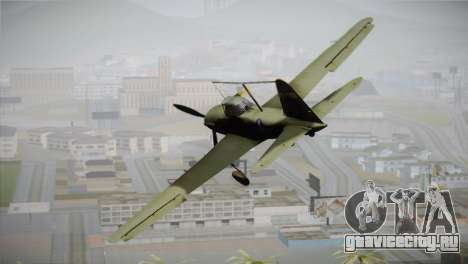 ИЛ-10 United States Air Force для GTA San Andreas вид слева