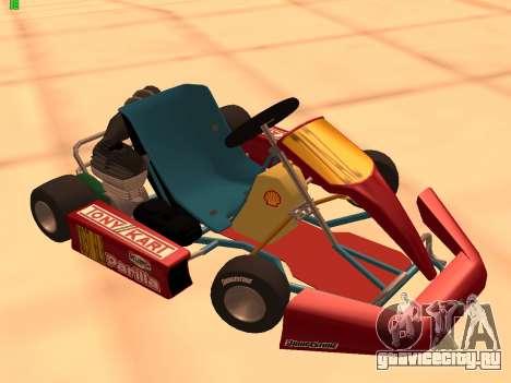 Kart per XiorXorn для GTA San Andreas