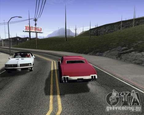 Medium ENBseries v1.0 для GTA San Andreas третий скриншот
