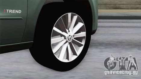 Volkswagen Golf Trend для GTA San Andreas вид сзади слева