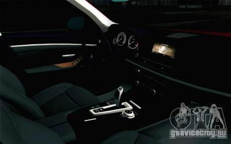 BMW 530d F11 Facelift IVF для GTA San Andreas вид справа