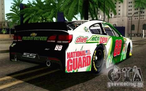 NASCAR Chevrolet SS 2013 v4 для GTA San Andreas вид слева