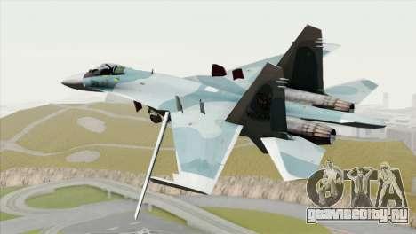 Sukhoi SU-27 PMC Reaper Squadron для GTA San Andreas вид слева