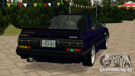 Nissan Skyline GTS-R (HR31) для GTA San Andreas вид сзади слева