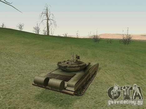 Танк Т-72Б для GTA San Andreas вид справа