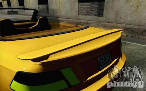 GTA 5 Ubermacht Sentinel Coupe для GTA San Andreas вид справа