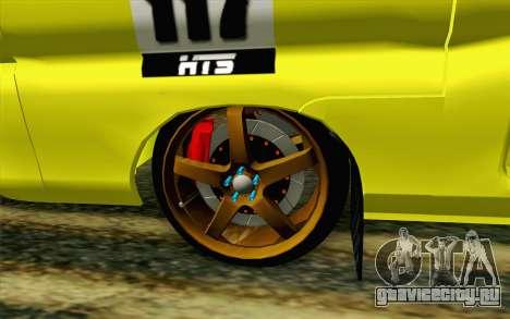 Daihatsu Espass Angkot YRT для GTA San Andreas вид сзади слева