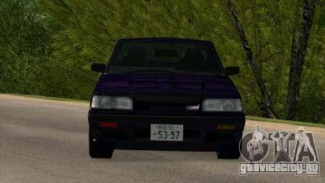 Nissan Skyline GTS-R (HR31) для GTA San Andreas вид изнутри