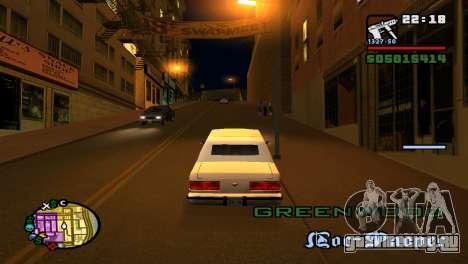 Увеличить или уменьшить радар как в GTA V для GTA San Andreas пятый скриншот