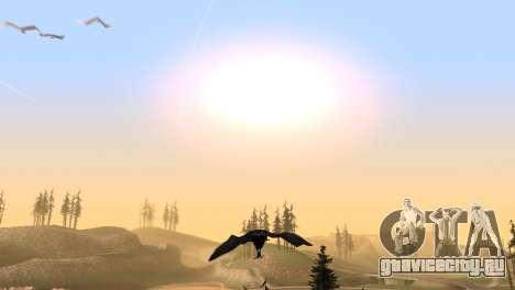 Возможность из GTA V играть за птицу V.1 для GTA San Andreas шестой скриншот