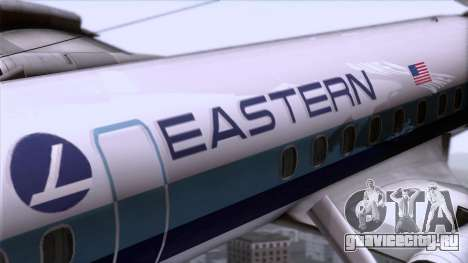 L-188 Electra Eastern Als для GTA San Andreas вид сзади