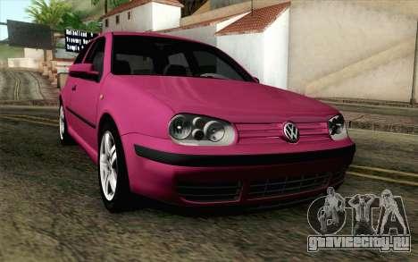 Volkswagen Golf v5 Stock для GTA San Andreas