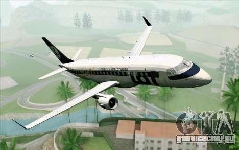 Embraer EMB-175 LOT Polish Airlines 600th E-Jet для GTA San Andreas