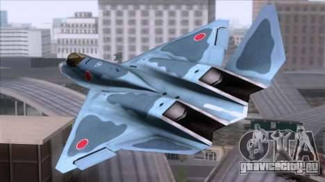 YF-23 JASDF для GTA San Andreas вид слева