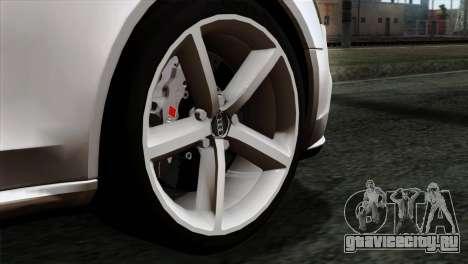 Audi A4 Avant 2013 для GTA San Andreas вид сзади слева