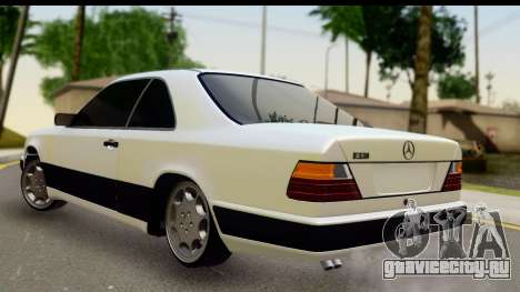 Mercedes Benz E320 W124 Coupe для GTA San Andreas вид слева
