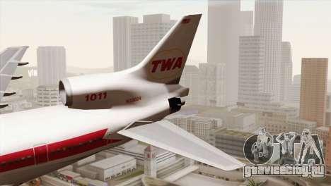 Lookheed L-1011 TWA для GTA San Andreas
