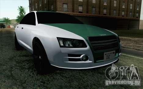 GTA 5 Obey Tailgater v2 IVF для GTA San Andreas