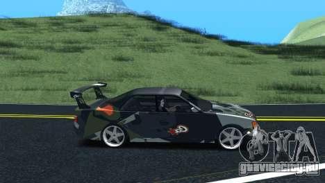 Toyota Chaser Tourer V Fail Crew для GTA San Andreas вид сзади слева