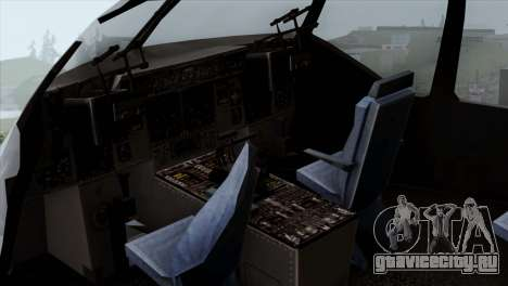 C-17A Globemaster III USAF Mississippi для GTA San Andreas вид сзади