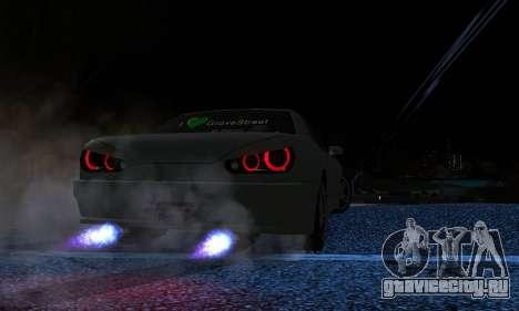 Elegy I Love GS v1.0 для GTA San Andreas вид справа