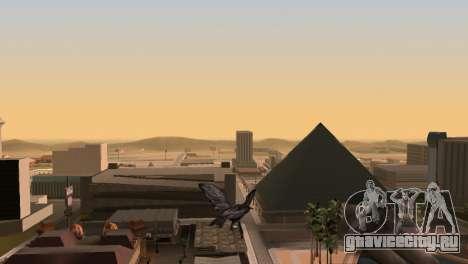 Возможность из GTA V играть за птицу V.1 для GTA San Andreas четвёртый скриншот
