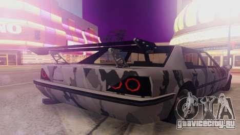 Vincent 3.0 для GTA San Andreas вид слева