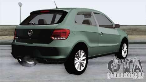 Volkswagen Golf Trend для GTA San Andreas вид слева