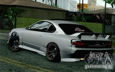 Nissan Silvia S15 SuperHero для GTA San Andreas вид слева