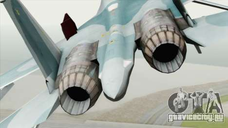 Sukhoi SU-27 PMC Reaper Squadron для GTA San Andreas вид сзади