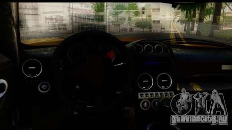 Noble M600 2010 HQLM для GTA San Andreas вид сбоку