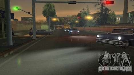 Road Reflections Fix 1.0 для GTA San Andreas для GTA San Andreas шестой скриншот