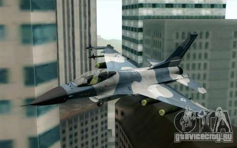 F-16 Osean Air Defense Force для GTA San Andreas