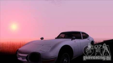 ENB Gamerealfornia v1.00 для GTA San Andreas второй скриншот