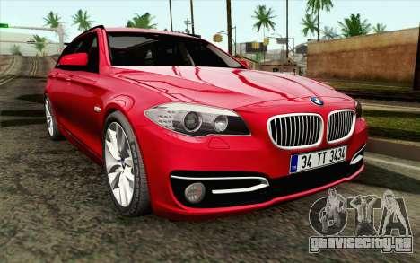 BMW 530d F11 Facelift IVF для GTA San Andreas