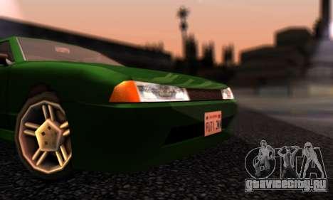 Elegy I Love GS v1.0 для GTA San Andreas вид слева