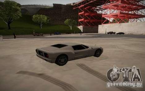 ENB для средних ПК для GTA San Andreas третий скриншот