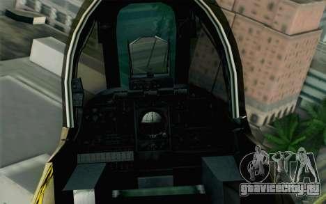 A-10 Desert Camo для GTA San Andreas вид справа