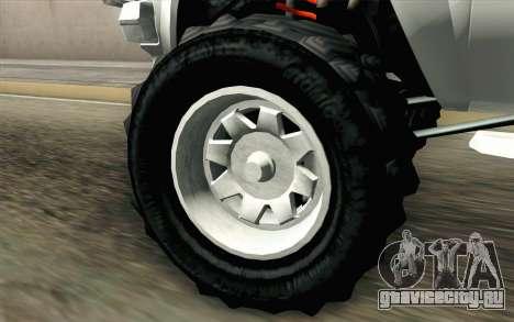 Technical from GTA 5 для GTA San Andreas вид сзади слева